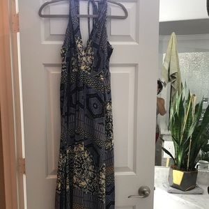 Astr Dresses - ASTR long maxi size medium side slit